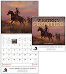 Western Frontier Spiral Wall Calendars